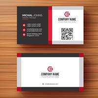 Corporate card template vector