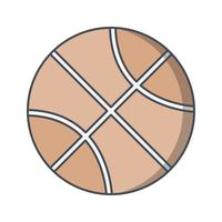 Basquete ícone Vector Illustration