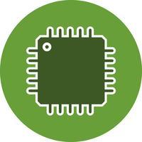 Icône de processeur de vecteur