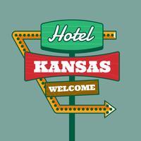 Retro Hotel Sign