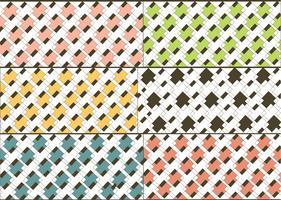 Conjunto de patrón de vector clásico
