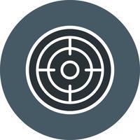 Goal Icon Vector Illustration