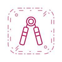 styrka ikon vektor illustration