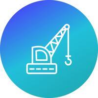 Vector Crane Icon