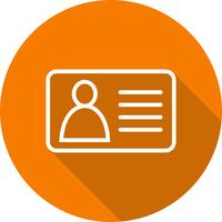 Vector Identity Card Icon