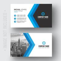 Modern professional business card Free Vector