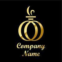 Logo de parfum vecteur