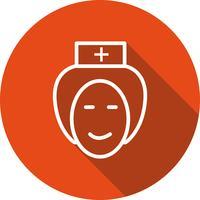 Vector enfermeira ícone