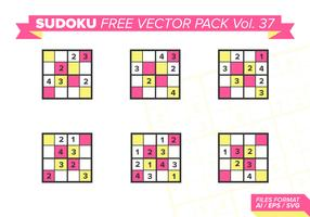 Sudoku Free Vector Pack Vol. 37