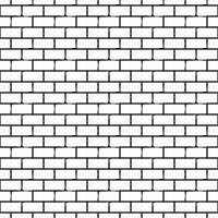 Motif monochrome sans couture avec des briques