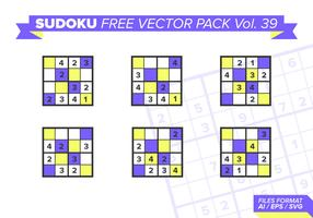 Sudoku Gratis Vector Pack Vol. 39