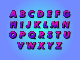 Modern alfabet