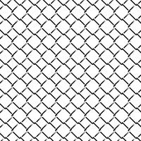 Fence Grid Monochrome naadloze patroon