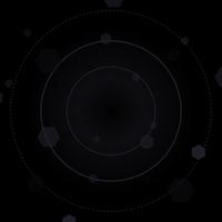 Vector de fondo negro