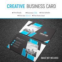 Elegant corporate card
