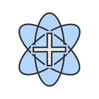 Medicinsk teckenfylld ikon