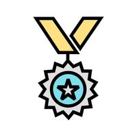 Medal Icon Vector Illustration