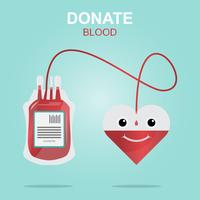 Blood donation design, Save Life and Be a Hero.