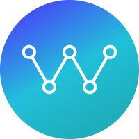 Vector icono de enlace