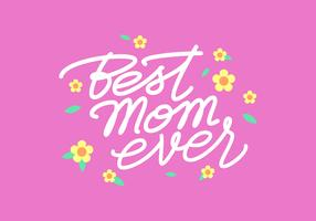 Tipografía Script Handwritting Mom