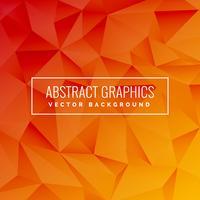Fundo abstrato com estilo geométrico