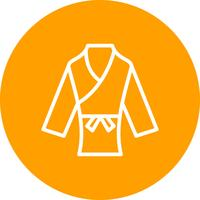 Karate pictogram vectorillustratie