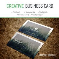 Elegant corporate card