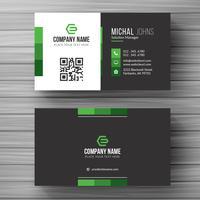 Corporate card template