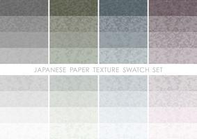 Japanisches Papiermuster eingestellt.