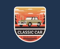 Car Retro Badge