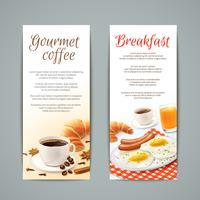 Set de Banners de desayuno