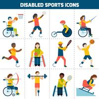 Behindertensport-Icons