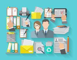 concept de documentation plat