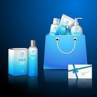 Kosmetika och väska