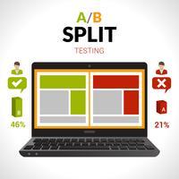 split testkoncept