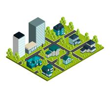 Real Estate Isometric