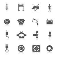 pictogram voor automatische service