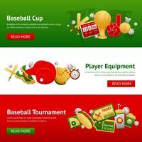 Set de Banners de Béisbol