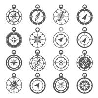 Compass Icon Set