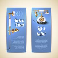 Telephone Banners Vertical