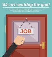 Jobbsökningskoncept