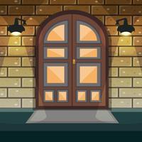 Porta de entrada de casa