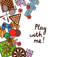 Spel skiss bakgrund