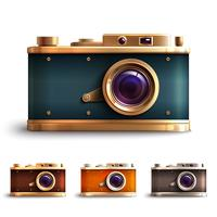Retro Style Camera Set