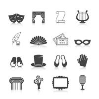 Theater Icon Set