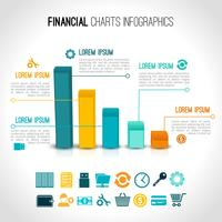Finance graphique infographique