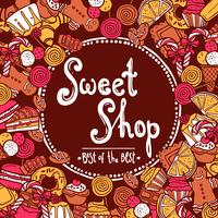 Sweet Shop Background