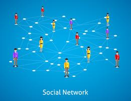 Conceito de rede social