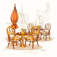 Calle Cafe Sketch