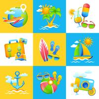 Summer Vacation Design Concept